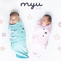 Cute Baby Wrap - Bedong Bayi Lucu - Kain Bedong Instant