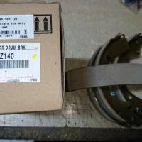 Brake Shoe / Kampas Rem Blk Calya Asli Toyota 04495-BZ140 (71074)