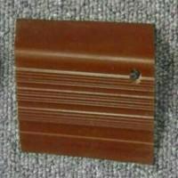 Step nosing Karet coklat polos / List Tangga Anti Slip Murah