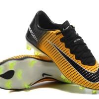 Sepatu Bola Soccer Nike Mercurial Vapor XI - Yellow Black CR7