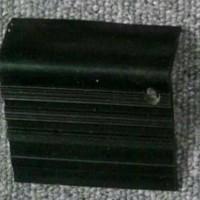 Step nosing Karet hitam polos / List Tangga Anti Slip