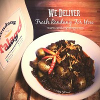 Rendang Talago Daging + Kentang 1/4 Kg - Pedas
