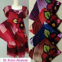 Setelan kulot batik pekalongan / baju tidur wanita / babydoll murah