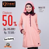 Qirani Dewasa Melati 101 | Baju Perempuan Wanita Muslim Gamis Dress.