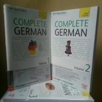 Belajar Bahasa Jerman  Paket Complete German Vol. 1 , 2 &3 + CD Audio