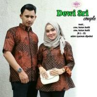 Baju Setelan Batik Dewi sri Couple