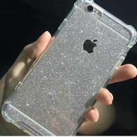 Anti Crack + Sticker Glitter Skin Case Xiaomi Redmi Note 3