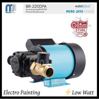 Pompa Booster WaterPlus BR-220DPA Pompa Pendorong Water Heater