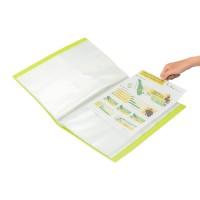 Bantex Display Book 60 Pockets Folio Lime #3187 65