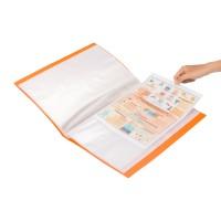 Bantex Display Book 60 Pockets Folio Mango #3187 64
