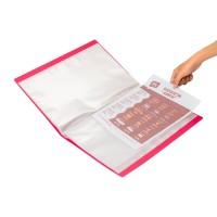 Bantex Display Book 60 Pockets Folio Grape #3187 61