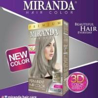 miranda mc 16 ash blonde cat rambut abu grey