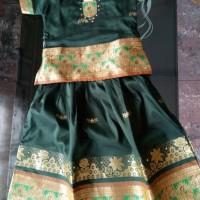 baju saree india anak