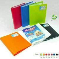 Clear holder/display book A4 60 pocket Bantex