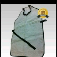 apron dada/apron las kulit asli