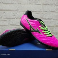 Sepatu Futsal Mizuno Rebula V3 Pink Black P1GF 178564 Original