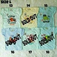 Kaos Hello Baby Size L Baju Kaos Anak Bayi Harian Karakter Lucu