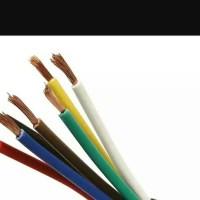 Kabel Serabut Nyaf 1 x 1.5 mm Kuning Supreme 1,5 mm ecer per meter