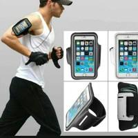 armband L silver - ban lengan-tempat hp dilengan sambil jogging
