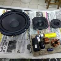 speaker split 3way avexis fu6s wavecor tw vifa with xo