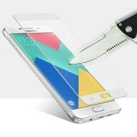 SAMSUNG GALAXY A3, A5, A7 2017 ANTI GORES FULL COVER TEMPERED GLASS
