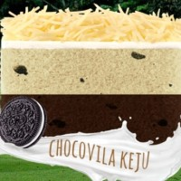 Kue Lapis Talas Bogor Sangkuriang RASA CHOCOVILLA KEJU - VIA JNE BOGOR