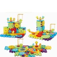 Gear Brick, Mainan lego gerak anak, Mainan edukasi anak