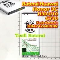 Baterai HUAWEI Honor 3C G730 H30 U10 HB4742A0RBC Rakkipanda batre