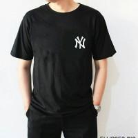 Tumblr Tee / T-Shirt / Kaos Pria Lengan Pendek NY Warna Hitam