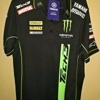 Yamaha Official tim TECH3 crew polo pit shirt baju motogp Original