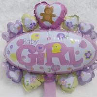 Balon Foil Welcoming Baby Girl - Baby Shower