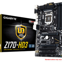 Gigabyte GA-Z170-HD3 (LGA1151, Z170, DDR4)