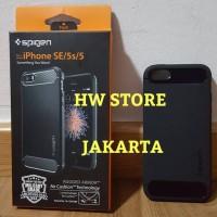 Original Spigen Rugged Armor Apple iPhone SE / 5S / 5 Black