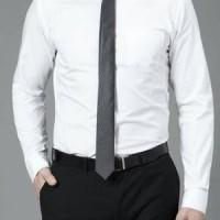 Baju formal putih polos | Kemeja formal pria | Baju Kantor