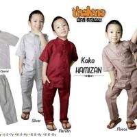 diskon 20% size 10-12 baju koko anak HAMIZAN dari THALUNA