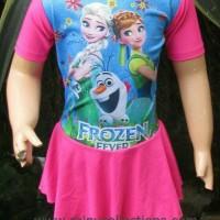 Baju Renang Anak Karakter Prozen Size TK