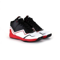 Sepatu Basket Piero P60142 Speciale Black White Red