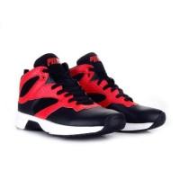 Sepatu Basket Piero P60147 Commander Black White Red