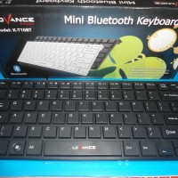 Advance Mini Bluetooth Keyboard K-T10BT (Keyboard tanpa kabel)