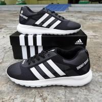 Sepatu Jumbo Adidas Neo Energy Boost Abu Hitam Sport Jogging Big Size