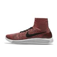 Sepatu Lari Wanita Nike LunarEpic Flyknit Red Original 818677-200