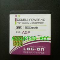 BATERAI/BATTERY LOG ON DOUBLE POWER EVERCOSS A5P
