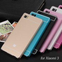 Aluminium Bumper Case Xiaomi MI3/ Xiaomi MI4 Back Cover Casing
