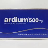 Ardium 500 mg tablet isi 60's