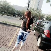 Celana kulot batik modern balon/celana yoga