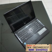 laptop Acer Aspire E1-410 Celeron Quad Core mulus dan lengkap
