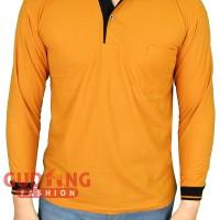 Polo Shirt Tangan Panjang Pria PLS 48