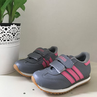 Sepatu Adidas anak Abu/Pink