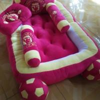 Kasur Bayi Karakter Bola Bordir