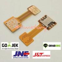 Dual SIM Card Adapter Converter Nano SIM Card & Micro SIM Card